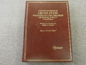 Legislation : Statutes and the Creation of Public Policy 2nd 1995 edition cover