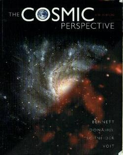 Cosmic Perspective (text Component)  5th 2008 edition cover