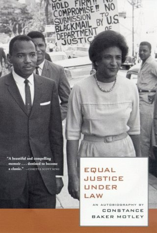 Equal Justice under Law An Autobiography 1st 9780374526184 Front Cover