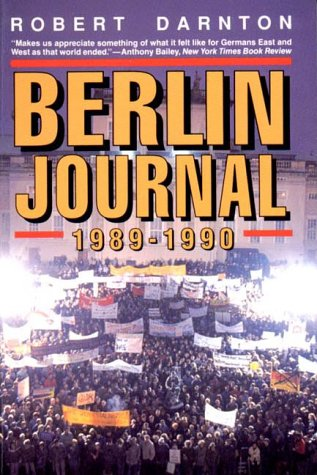 Berlin Journal, 1989-1990  N/A edition cover