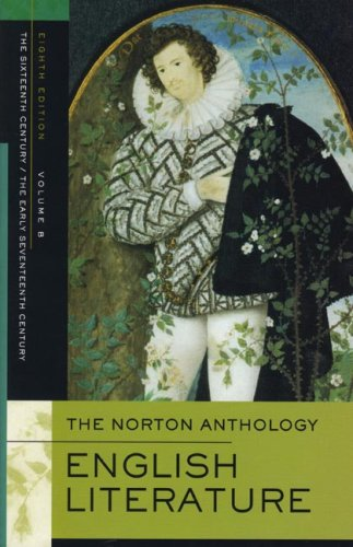 Norton Anthology of English Literature  8th 2006 edition cover