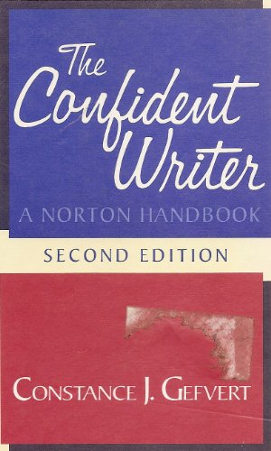 Confident Writer : A Norton Handbook 2nd edition cover