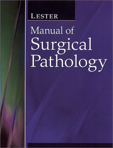Manual of Surgical Pathology   2000 edition cover