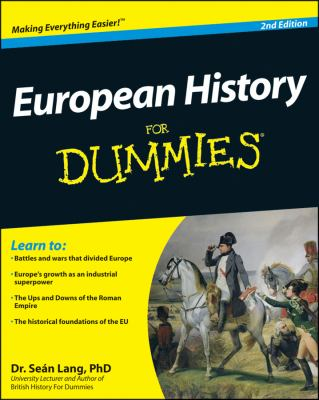 European History for Dummies  2nd 2010 edition cover