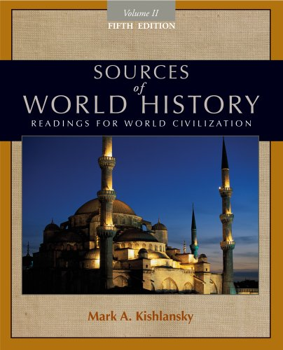 Sources of World History, Volume II  5th 2012 edition cover