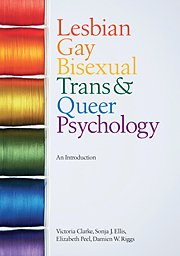 Lesbian, Gay, Bisexual, Trans and Queer Psychology An Introduction  2010 edition cover