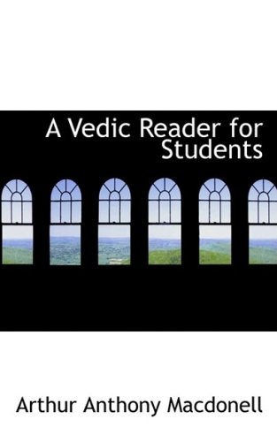 A Vedic Reader for Students:   2009 edition cover