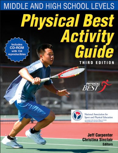 Physical Best Activity Guide Middle and High School Levels 3rd 2010 edition cover