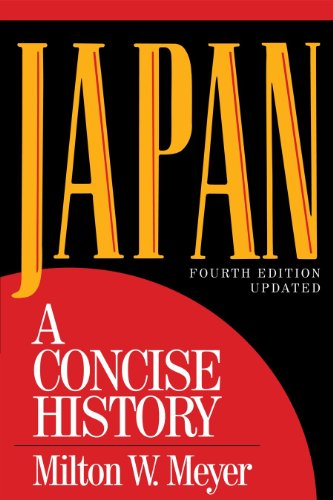 Japan A Concise History 4th 2012 (Revised) edition cover