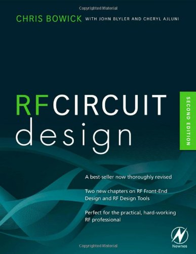 RF Circuit Design  2nd 2007 edition cover