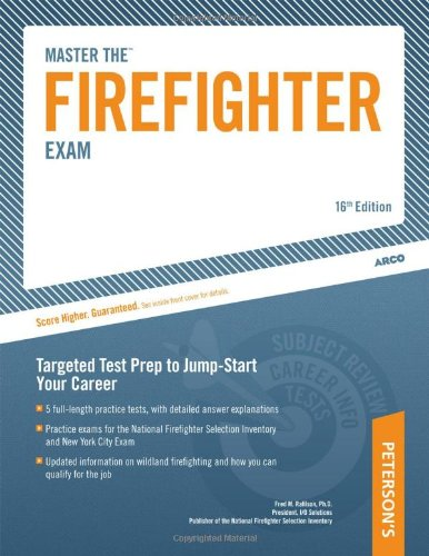 Master the Firefighter Exam Targeting Test Prep to Jump-Start Your Career 16th edition cover