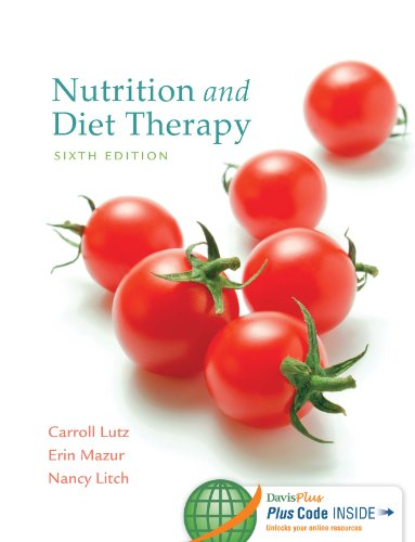 Nutrition and Diet Therapy:   2014 edition cover