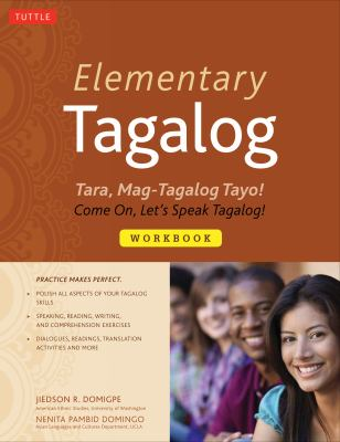 Elementary Tagalog Tara, Mag-Tagalog Tayo! - Come On, Let's Speak Tagalog!  2012 edition cover