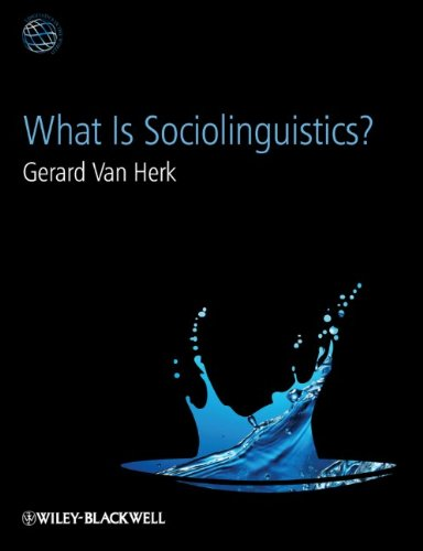 What Is Sociolinguistics?   2012 edition cover