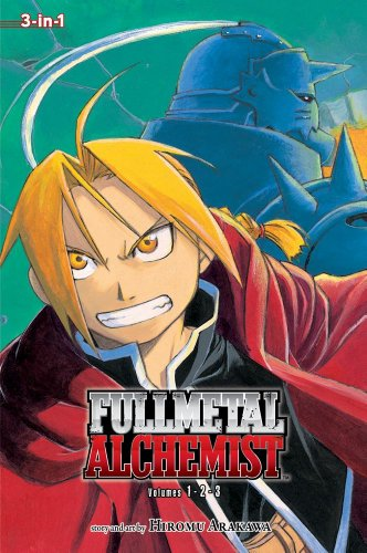 Fullmetal Alchemist (3-in-1 Edition), Vol. 1   2011 edition cover