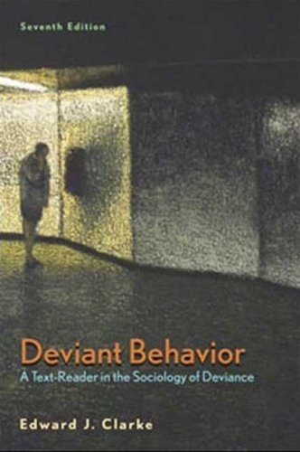 Deviant Behavior  7th 2008 (Revised) edition cover