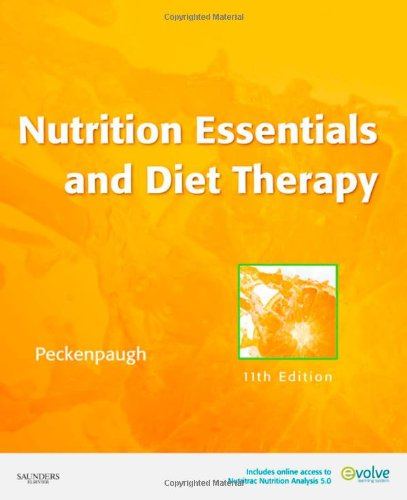 Nutrition Essentials and Diet Therapy  11th 2010 edition cover