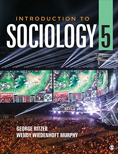 Introduction to Sociology  5th 2020 9781544355184 Front Cover
