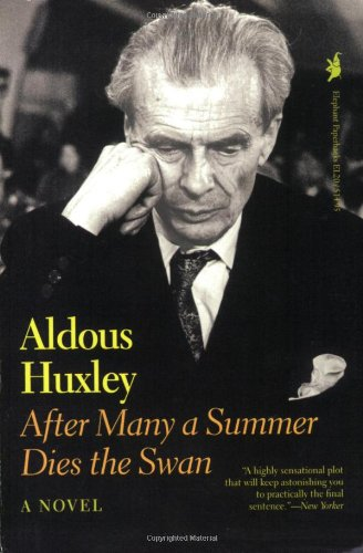 After Many a Summer Dies the Swan  Reprint edition cover