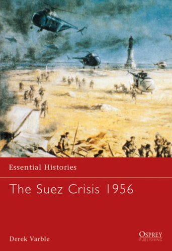 Suez Crisis 1956   2003 edition cover