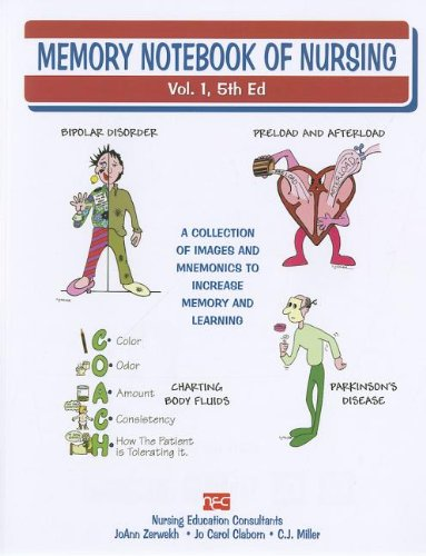 Memory Notebook of Nursing, Vol 1 A Collection of Mnemonics to Increase Memory and Learning 5th 2012 edition cover