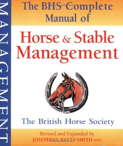 Horse and Stable Management  2nd 2008 (Revised) edition cover