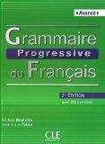 Grammaire progressive du francais - Nouvelle edition: Livre avance & CD au 1st 0 edition cover