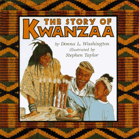 Story of Kwanzaa  N/A 9780060248185 Front Cover