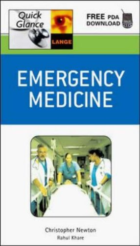 Emergency Medicine Quick Glance  2006 9780071448185 Front Cover