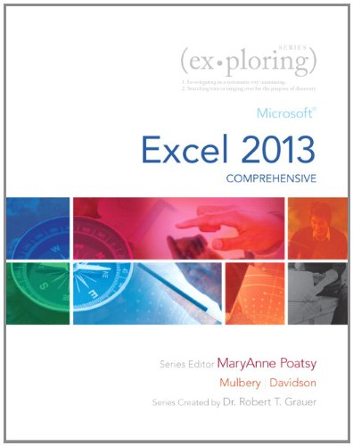 Exploring Microsoft Excel 2013, Comprehensive  2014 edition cover