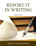 Report It in Writing  6th 2015 edition cover