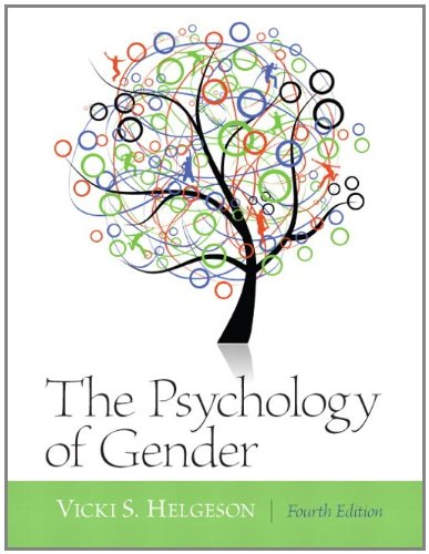 Psychology of Gender  4th 2012 (Revised) 9780205050185 Front Cover