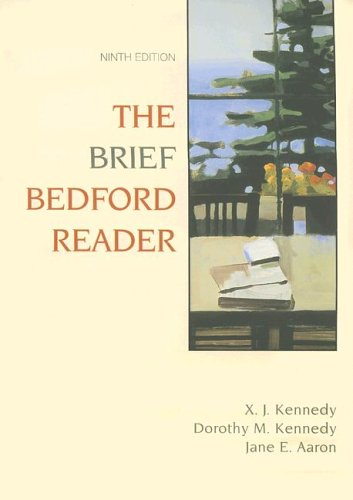 Bedford Reader 2009 9th 2006 9780312433185 Front Cover