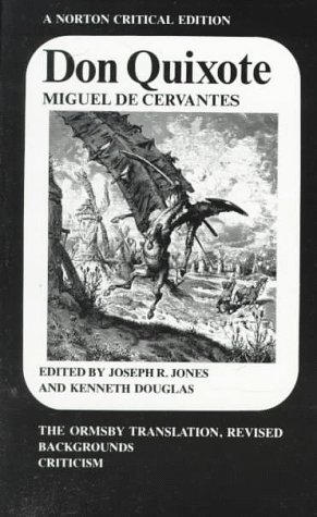 Don Quixote The Ormsby Translation, Revised, Backgrounds and Sources, Criticism  1981 edition cover