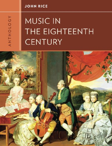 Anthology for Music in the Eighteenth Century  N/A edition cover