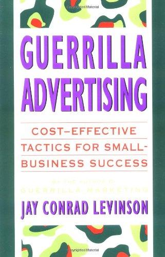 Guerrilla Advertising   1994 edition cover