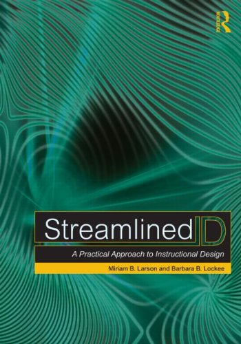 Streamlined ID A Practical Guide to Instructional Design  2013 edition cover
