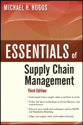 Supply Chain Management  3rd 2011 edition cover