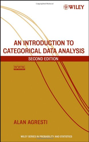 Introduction to Categorical Data Analysis  2nd 2007 (Revised) edition cover