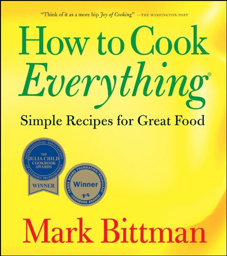 How to Cook Everything Simple Recipes for Great Food  1998 edition cover
