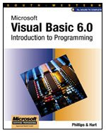 Microsoft Visual Basic 6.0 Introduction to Programming   2000 9780538688185 Front Cover