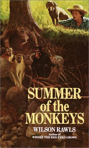 Summer of the Monkeys  N/A 9780553298185 Front Cover