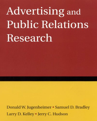 Advertising and Public Relations Research   2010 edition cover