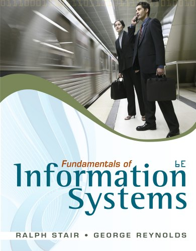 Fundamentals of Information Systems  6th 2012 edition cover