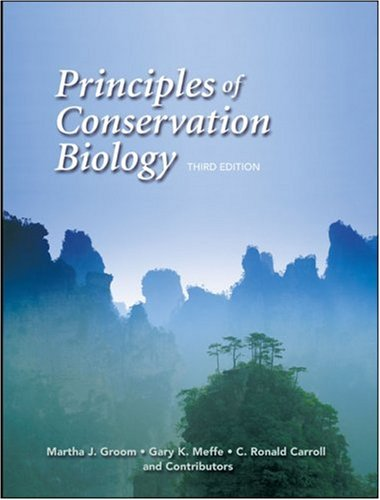 Principles of Conservation Biology  3rd 2004 edition cover