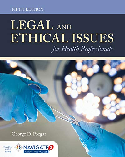Legal & Ethical Issues for Hlth Profls + Advantage Access Card:   2019 9781284144185 Front Cover