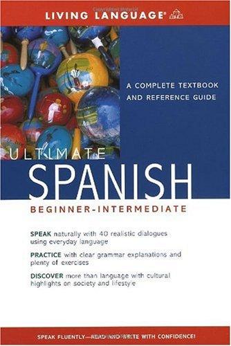 Ultimate Spanish Beginner-Intermediate (Book)   2004 (Large Type) edition cover