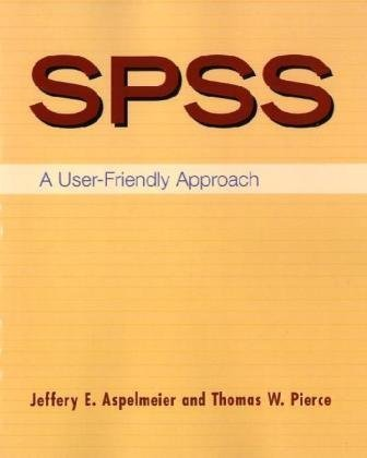SPSS - User Friendly Approach   2009 edition cover