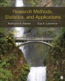 Research Methods, Statistics, and Applications   2015 edition cover
