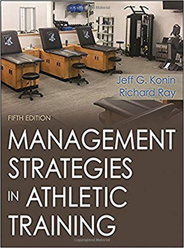 Management Strategies in Athletic Training  5th 2018 9781492536185 Front Cover